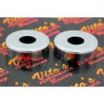 2 x Vito's Swingarm Dust Caps seals Yamaha Banshee Warrior Blaster thrust