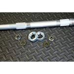 """NEW Vito's Performance 2"""" extended AXLE Yamaha Banshee hub axle nuts kit"""