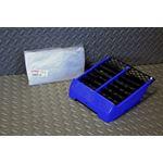 NEW Yamaha Banshee plastic OEM factory radiator cover grill 1987-2006 BLUE
