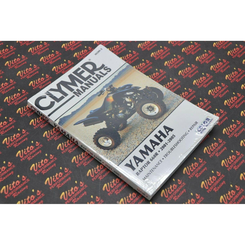 Clymer ATV/UTV Repair Manuals M280-2, M2802 Raptor