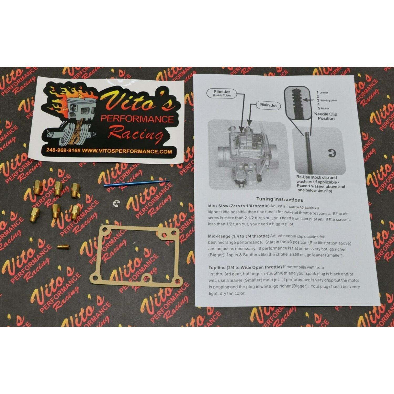 VITO's Yamaha Blaster FULL JET KIT - 6 main je