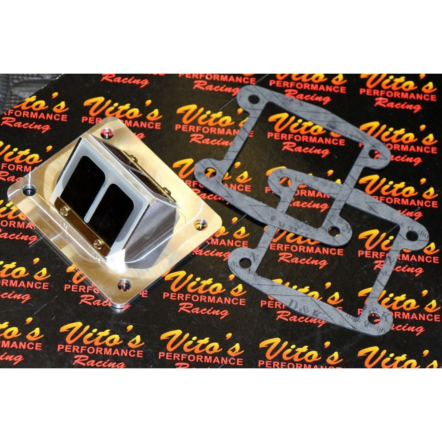 Vito's Performance billet BULLSEYE REED CAGES