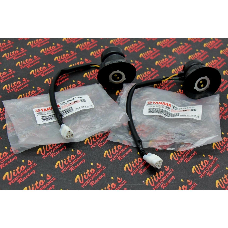 2 X Headlight Sockets Genuine Oem Yamaha Banshee G
