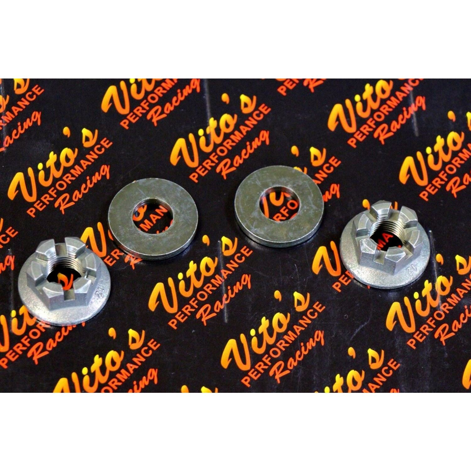 2 x Vito's Performance spindle nut + washer Ya