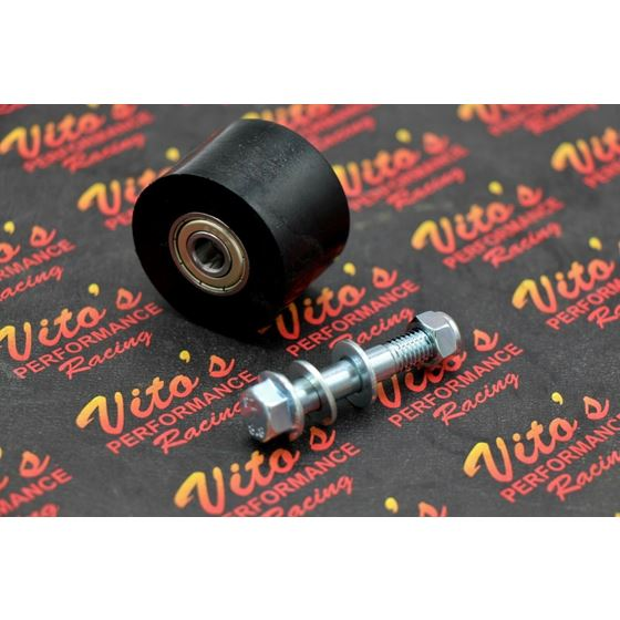 lower swingarm 42mm BLACK Vito/'s Performance Yamaha Banshee Chain roller upper