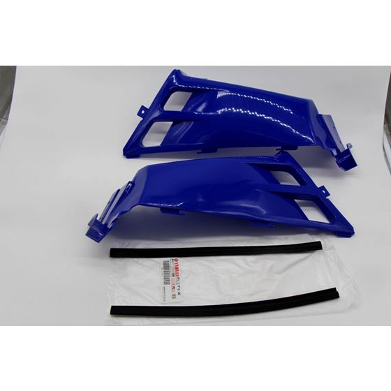 NEW Vito's Yamaha Banshee plastic gas tank side covers grill 1987-2006 BLUE